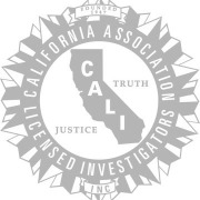California Association of Licensed investigators Logo Black & White
